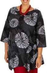 f83a319e631ba9 Grande taille pour femme vêtement original coloré et tendance