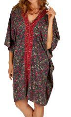 Tunique ou robe d'été ample et fleurie pour femme Sambava 314775