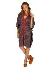 Tunique ou robe d'été ample et fleurie pour femme Sambava 314776