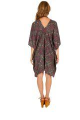 Tunique ou robe d'été ample et fleurie pour femme Sambava 314777