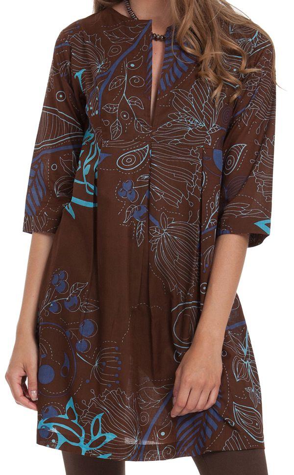 Robe tunique femme originale