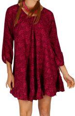 Tunique pour femme coupe ample originale Misrata rose 314716