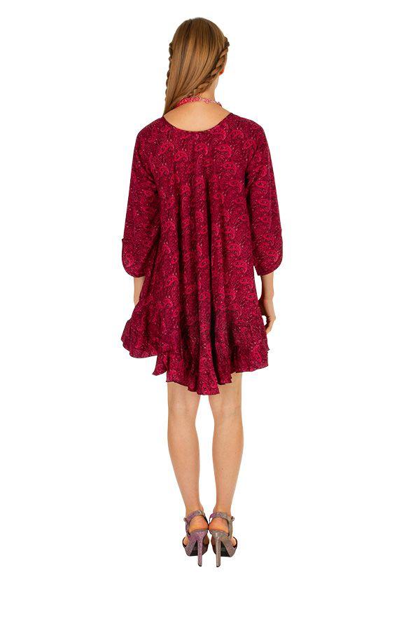 Tunique pour femme coupe ample originale Misrata rose 314718