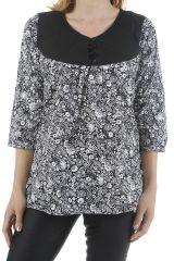 Tunique pour femme en coton imprimée et tendance Zoé 311320