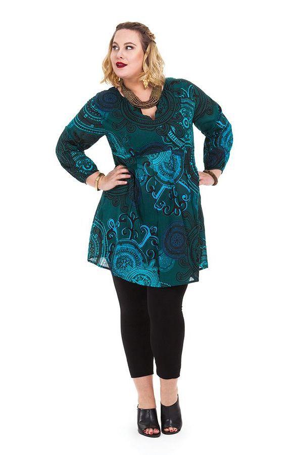 Tunique pour femme en grande taille ample et pas chère Olga 284623