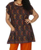 Tunique pour femme en grande taille style bohème Malaisie