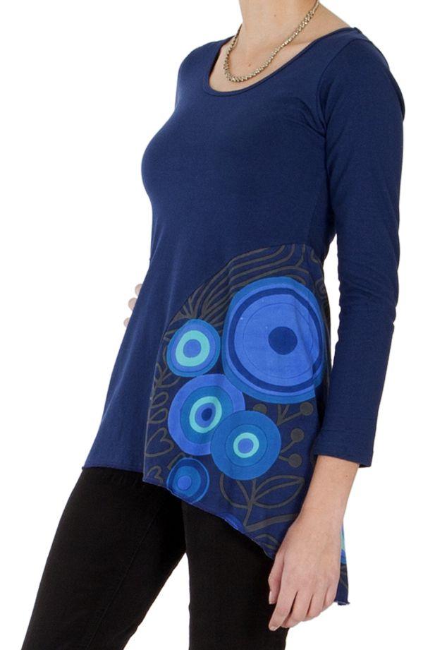 Tunique pour Femme Originale et Colorée Bleue Tamara 286840