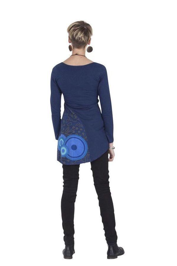 Tunique pour Femme Originale et Colorée Bleue Tamara 286842