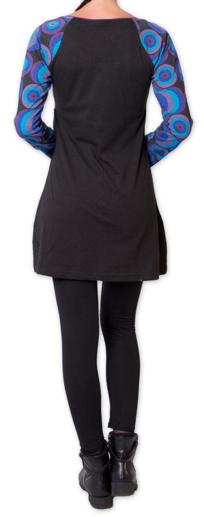 Tunique pour Femme Originale et Colorée Godavary Noir 275792