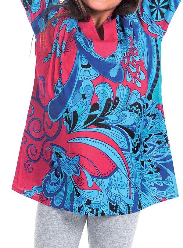 Tunique pour Fille Originale et Pas Chère Lory Bleue et Rose 280670