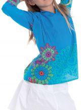 Tunique pour Fille Originale et Pas Chère Lory Turquoise 280680
