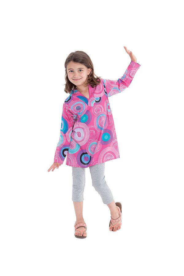 Tunique pour Fille Originale Rose et Pas Chère Lory 280677
