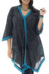 Tunique size + élégante et agréable en voile de coton Zoé 295595