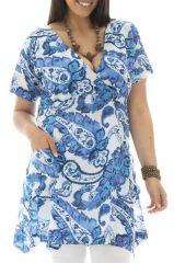 Tunique size + originale avec imprimé paisleys Bertille 295312