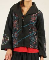 Veste courte d'Hiver pour Femme Ethnique et Originale Casana 276554