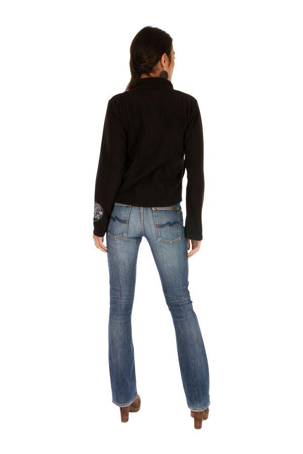 Veste courte noire très féminine et tendance Katsina 313407
