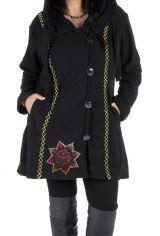 Veste d'hiver à capuche en grande taille du Népal Bafang 313773
