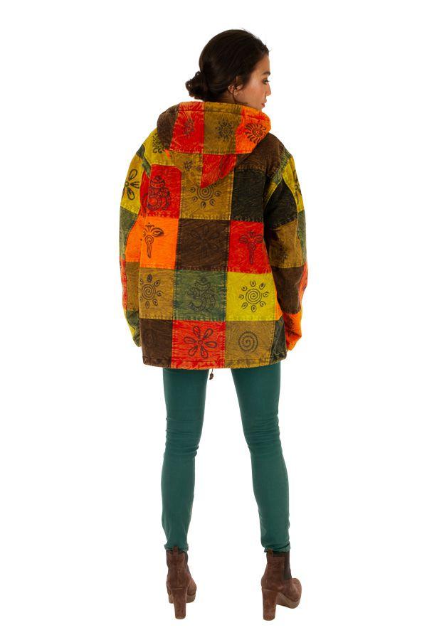 Veste d'hiver très tendance ethnique et mixte Mandera 312841
