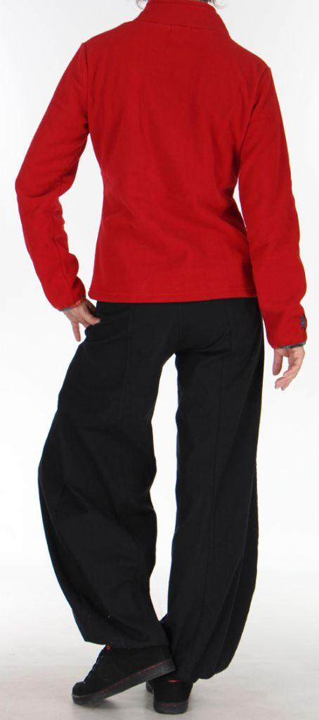 Veste Femme en polaire Colorée et Chaude Ohana Rouge 275973