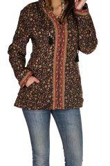 Veste femme imprimée et originale avec une capuche Sonia 305379