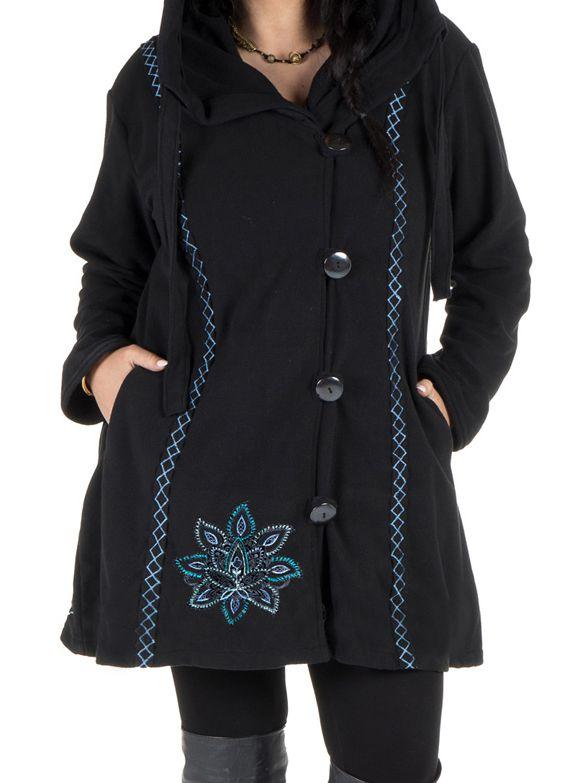 Veste femme originale à capuche en grande taille Kumbo 313767