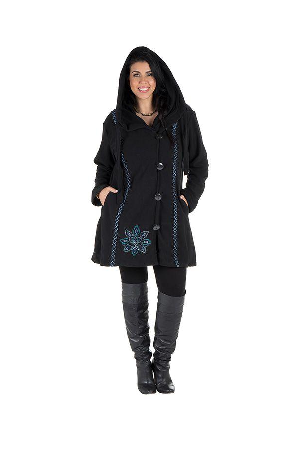Veste femme originale à capuche en grande taille Kumbo 313768