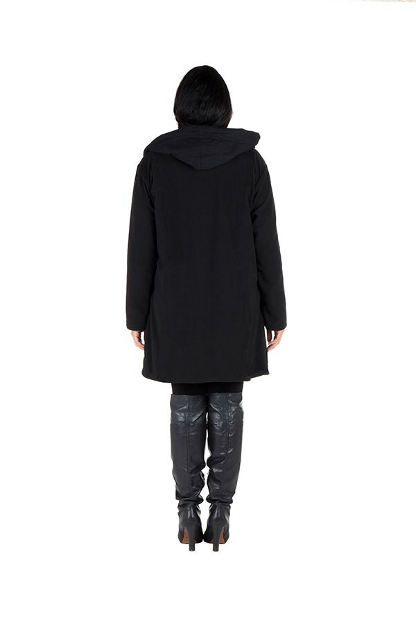 Veste femme originale à capuche en grande taille Kumbo 313769