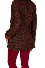 Veste femme zippée originale avec une capuche Sonia 305395