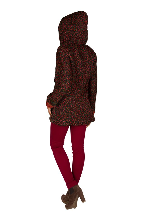 Veste femme zippée originale avec une capuche Sonia 305396