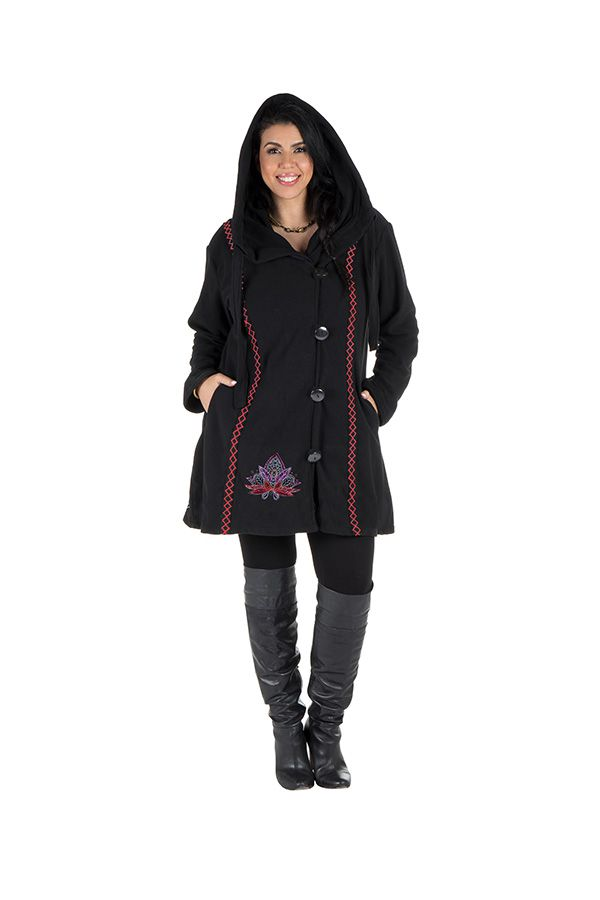 Veste hiver femme en grande taille en polaire Garoua 313756