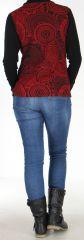 Veste légère pour Femme Originale et Ethnique Sensia Rouge 278326