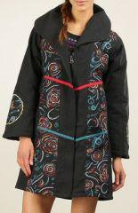 Veste Longue d'Hiver pour Femme Ethnique et Originale Casana 276563