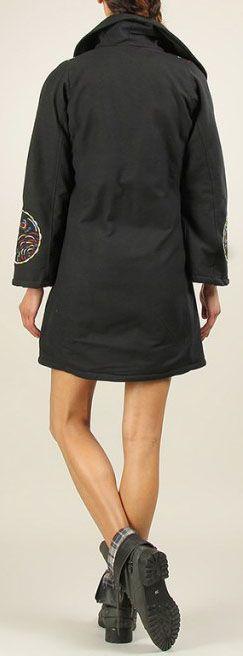 Veste Longue d'Hiver pour Femme Ethnique et Originale Casana 276565