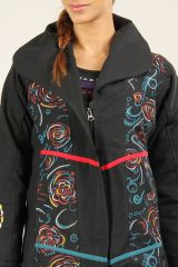 Veste Longue d'Hiver pour Femme Ethnique et Originale Casana 276566