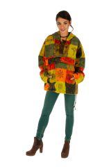Veste mixte ethnique et colorée style vareuse Dalaba 313227
