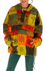 Veste mixte ethnique et colorée style vareuse Dalaba 313229