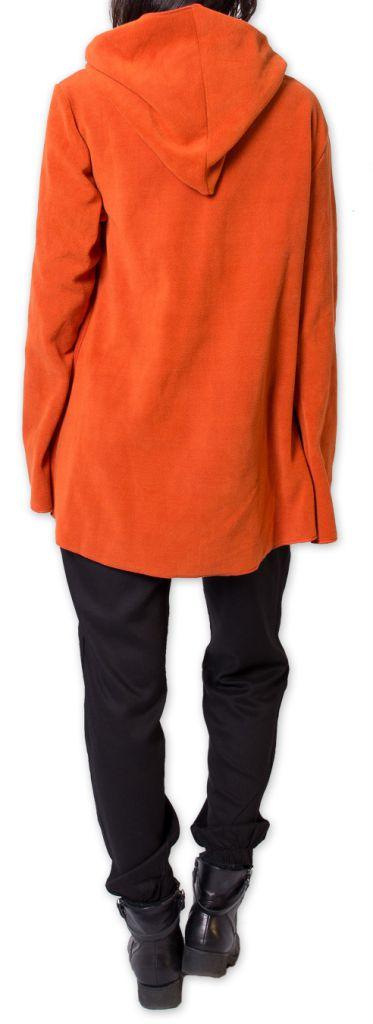 Veste polaire pour Femme Ethnique et Chaude Ottawaa Orange 275900