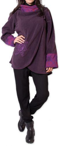 Veste polaire pour Femme Ethnique et Imprimée Huddson Violette 275614