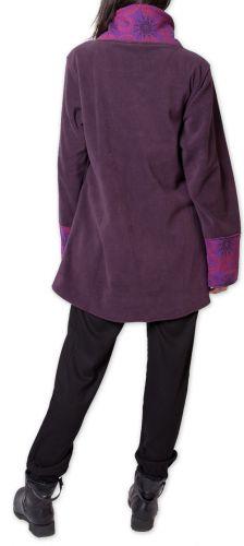 Veste polaire pour Femme Ethnique et Imprimée Huddson Violette 275616