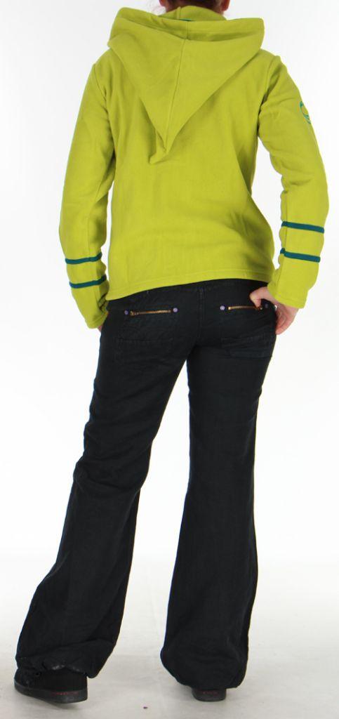 Veste pour Femme Colorée et Chaude en polaire Selen Anis 276286