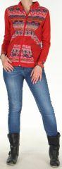 Veste pour Femme très légère Ethnique et Imprimée Zorah 278293
