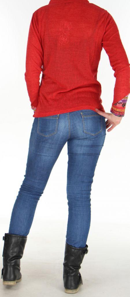 Veste pour Femme très légère Ethnique et Imprimée Zorah 278294
